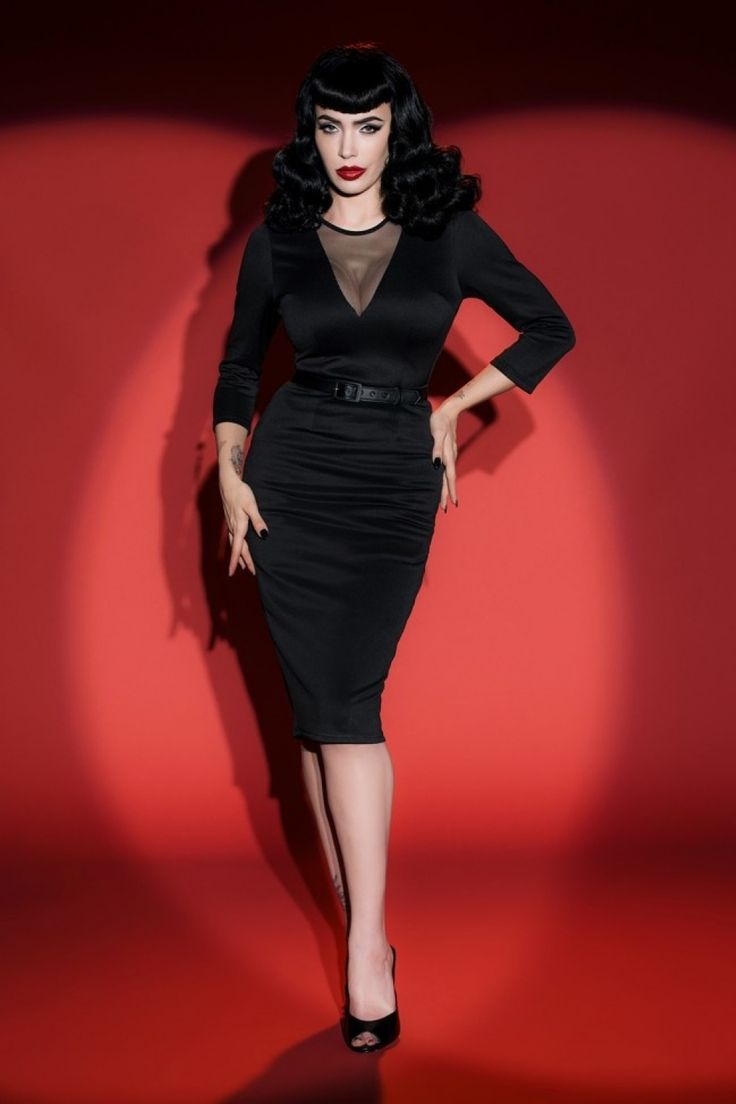 Take the plunge and rock your curves in this