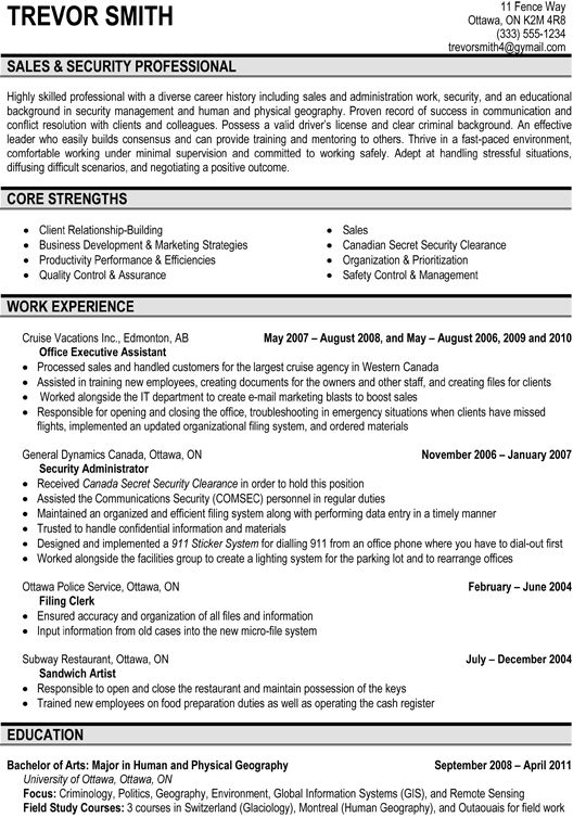 sales security professional resume sample resume samples pinterest professional resume samples and professional resume - Security Professional Resume