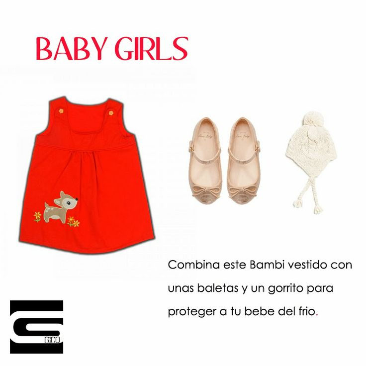 #Baby #Girls #style #fashion #red #bambi
