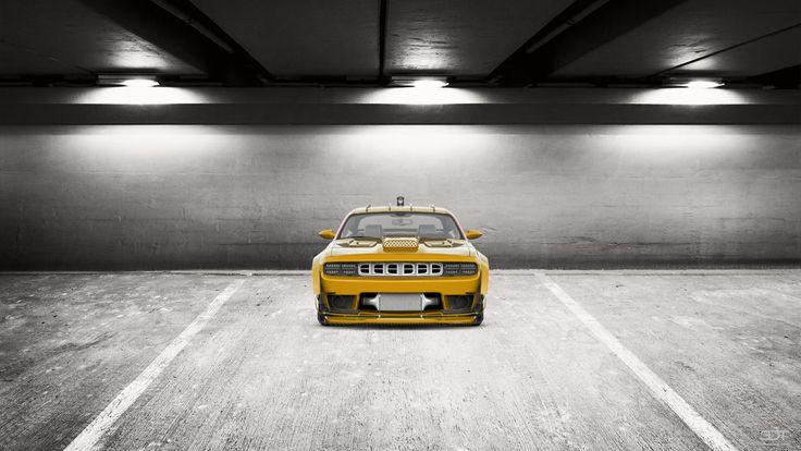 Как вам мой тюнинг #Dodge #Challenger 2109 на 3DTuning #3dtuning #tuning