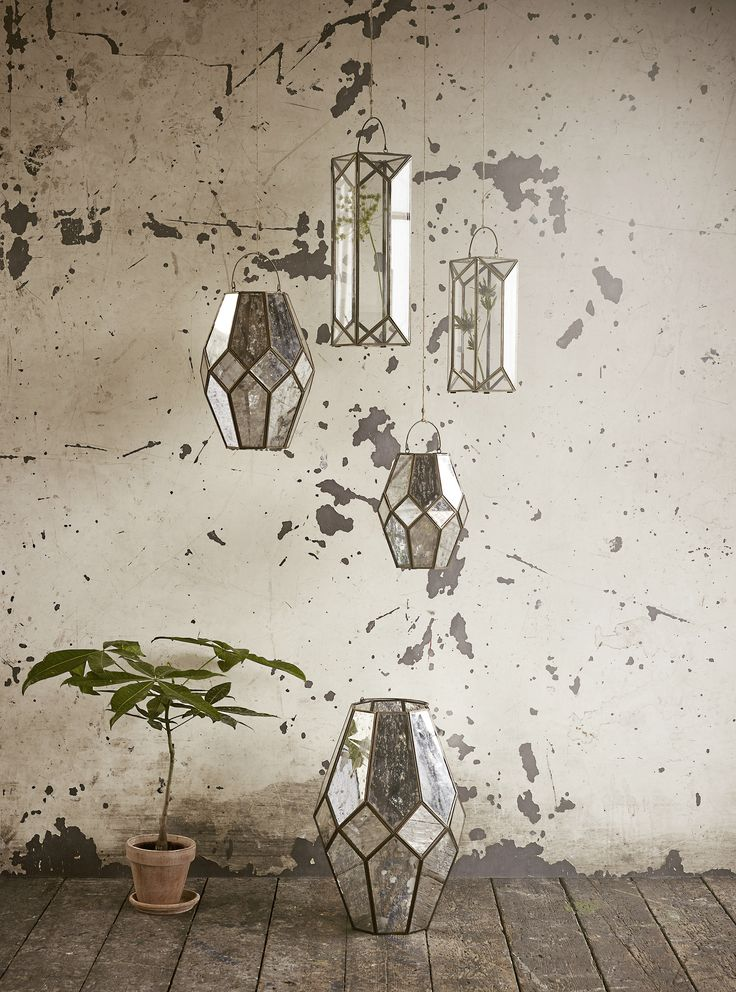 Hanging lanterns - what a beautiful sight. Find them at Molly Marais.