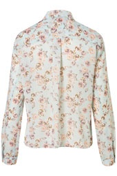 I absolutely love this flowery shirt from Topshop!