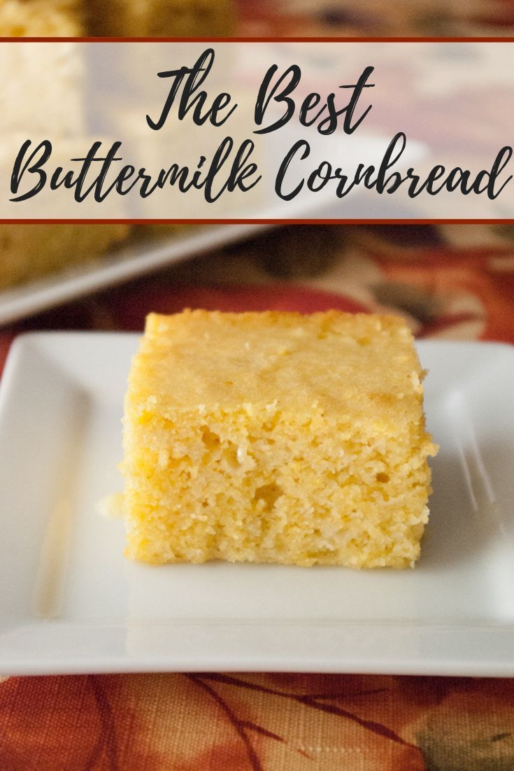 Buttermilk Cornbread Recipe Buttermilk Cornbread Corn Bread Recipe Cornbread