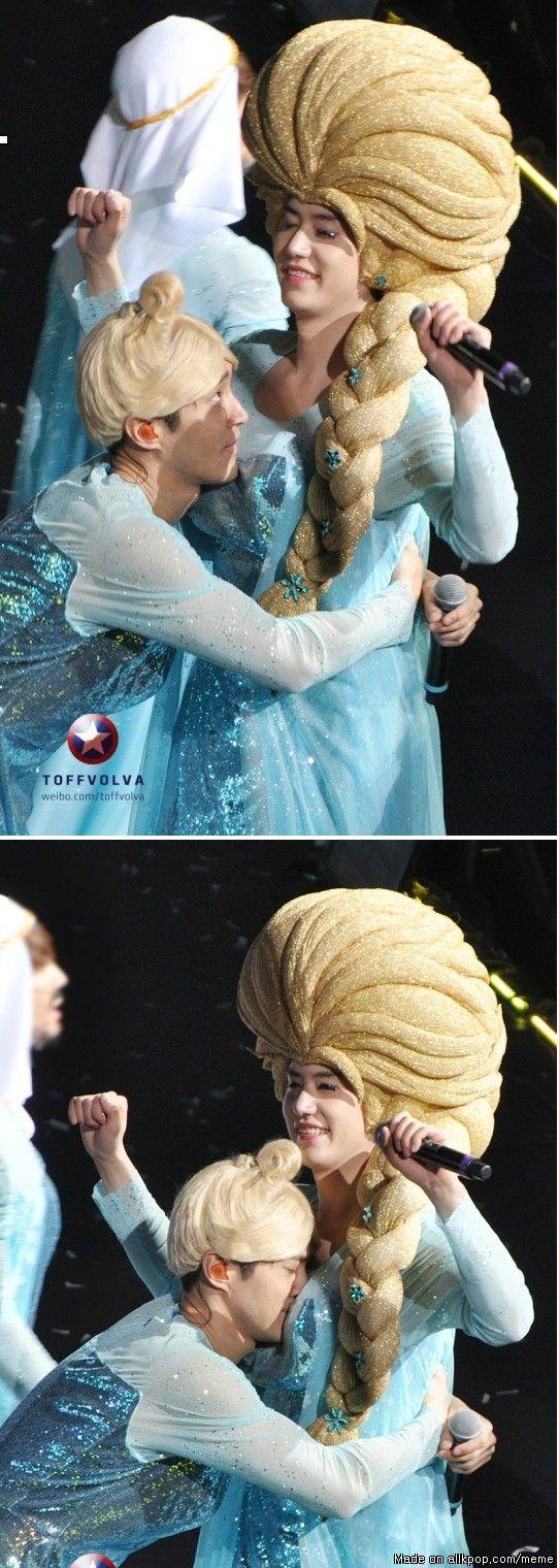 Meanwhile Super Junior in Shangai...   allkpop Meme Center