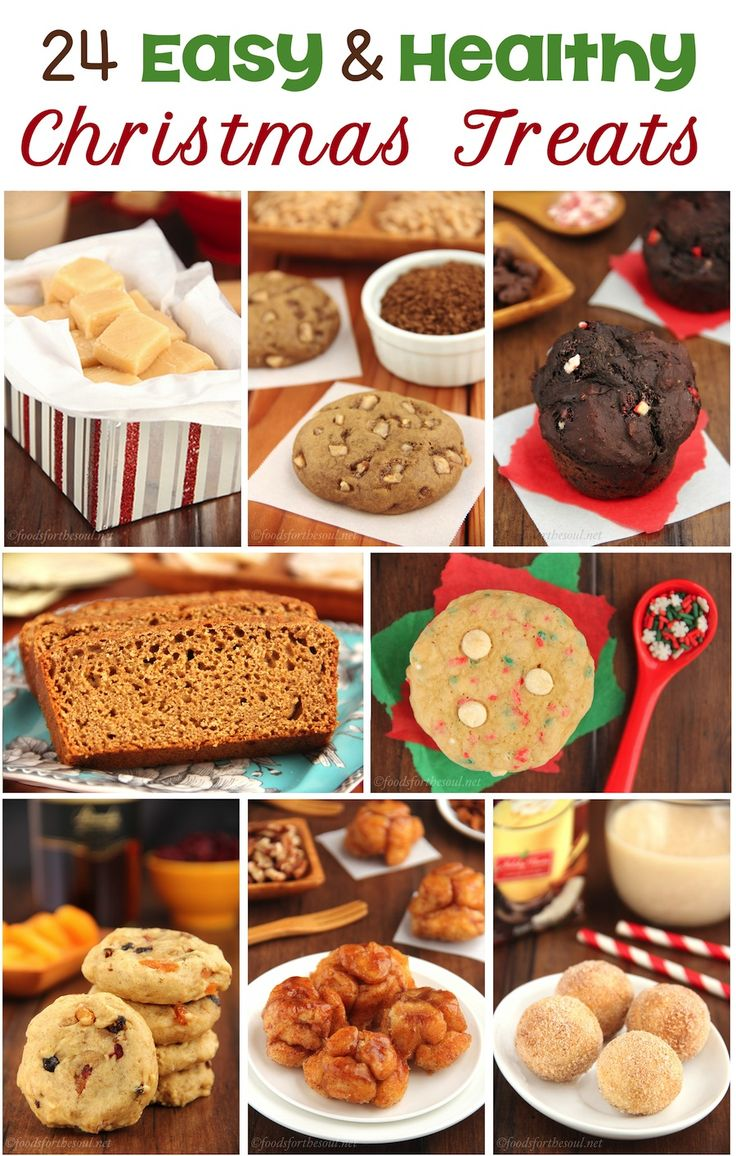 24 Easy & Healthy Christmas Treats -- perfect for last-minute ...