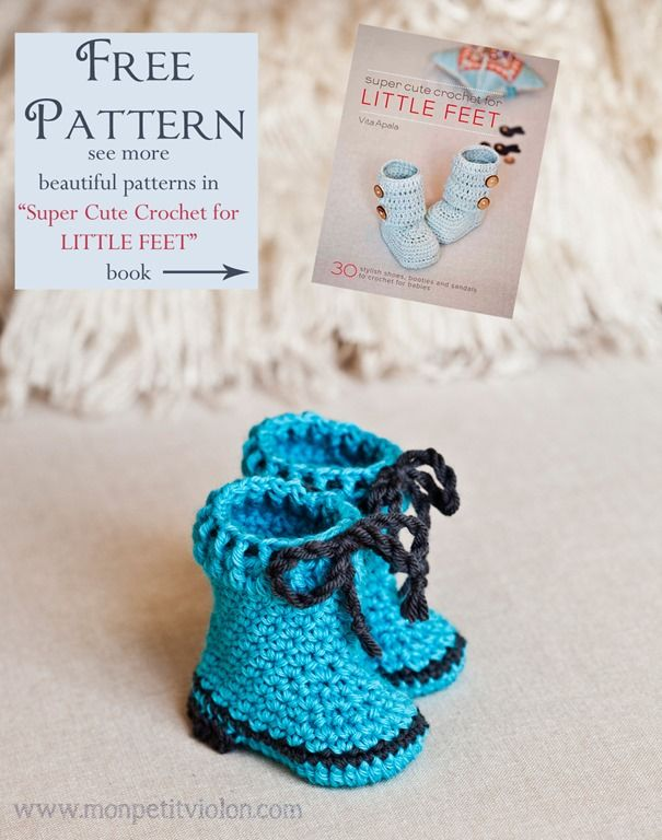 Croshay Design Crochet Patterns : ... Petit Violon - Free Crochet Pattern - (monpetitviolon) Crochet Pattern