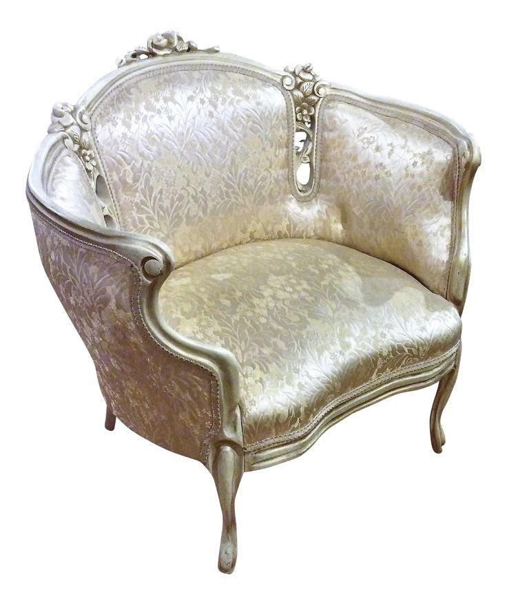 Vintage CK Victorian Chair on Chairish.com