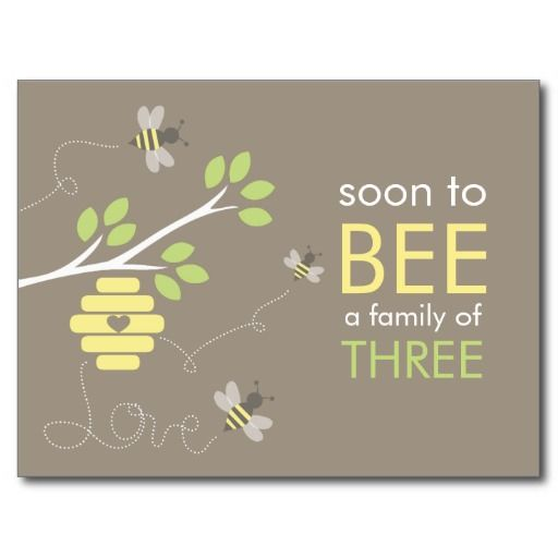 Possible Bee theme for the baby shower.