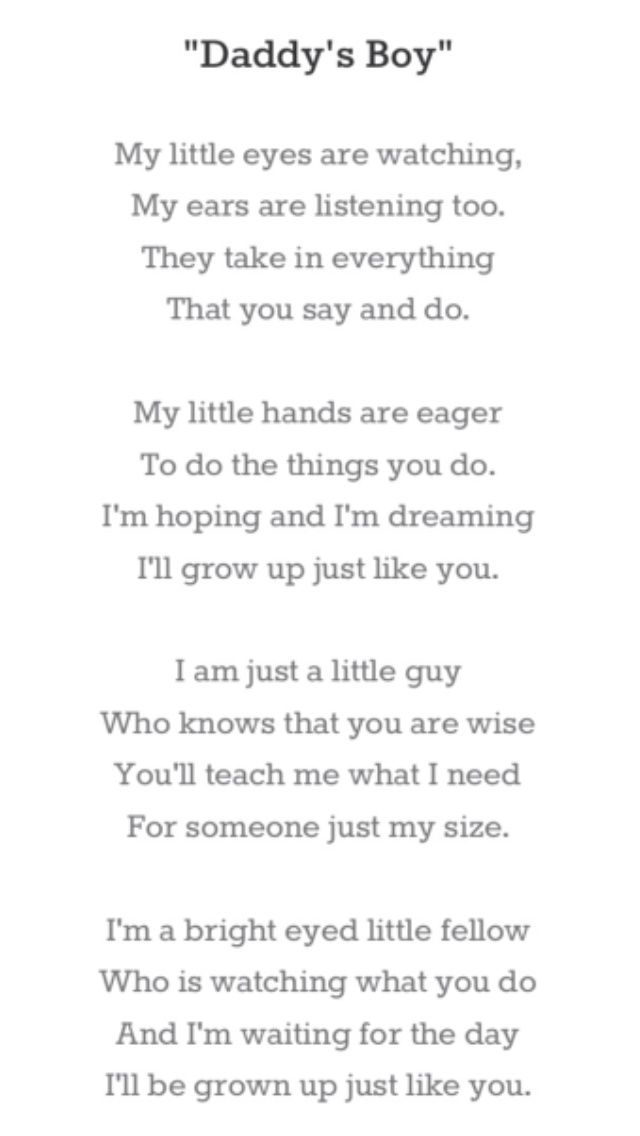 A Poem For Daddy - FURYTEE-Personalized Gifts | Customized T-shirts | Design Your Own Products
