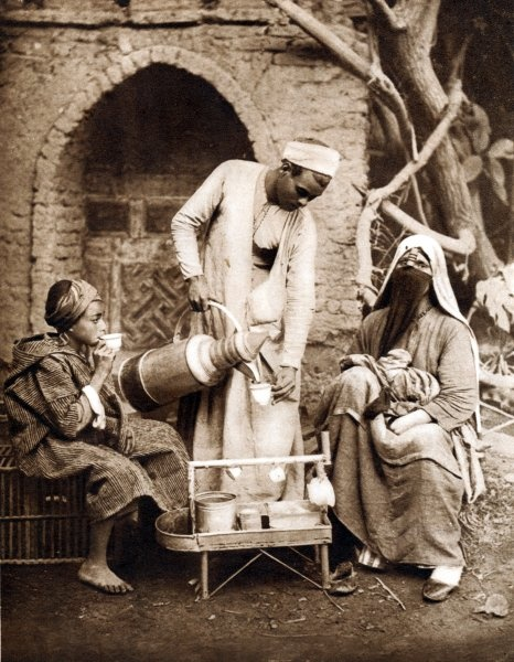 Coffee Seller - Cairo, 1933