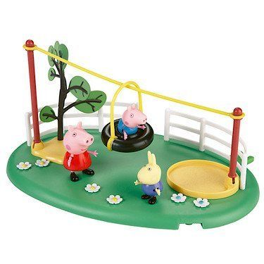 Peppa Pig Playtime Fun Slide and Playset by Character. $41.86