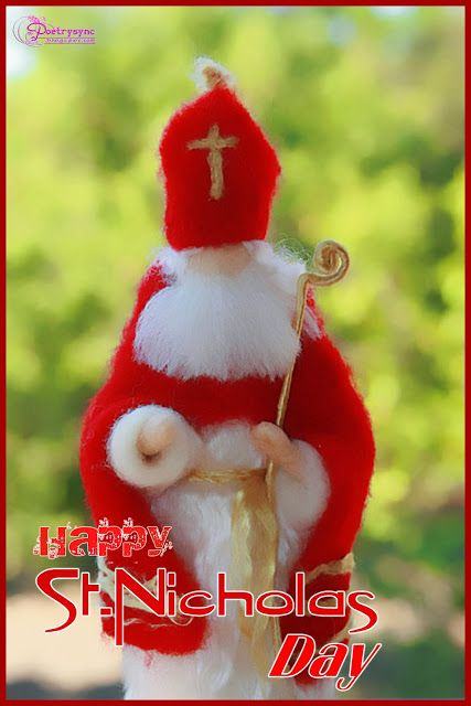 St Nicolas Day Wishes And Greetings Card