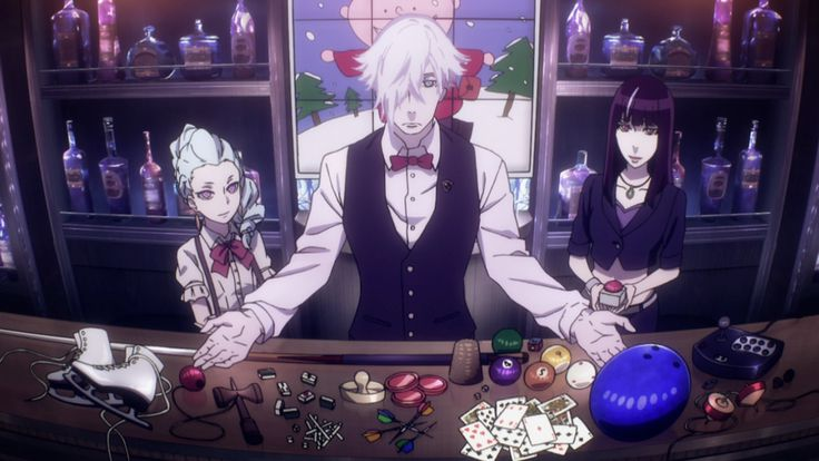 "Death Parade ""Open the game !"""