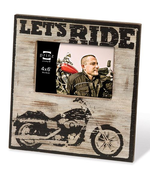 Look at this 'Let's Ride' Frame on #zulily today!
