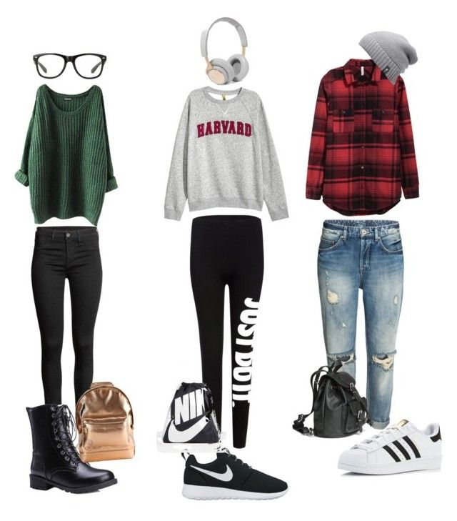 """""""Everyday outfit"""" by anna-lena09 on Polyvore featuring adidas, NIKE, Mi-Pac, The North Face and B&O Play"""