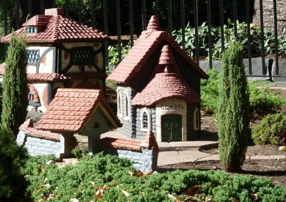 School. A very small one in the model Tudor village at Melbourne's Fitzroy Gardens.