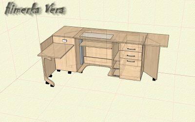 My crazy dreams: Швейный стол