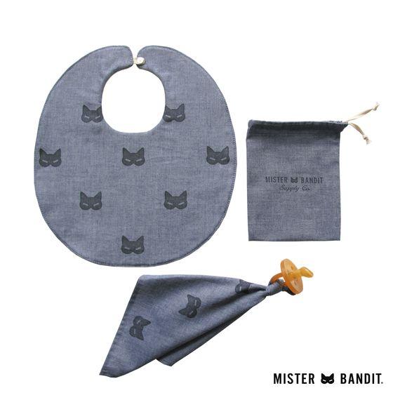 Mister Bandit HONEYCOMB Baby set