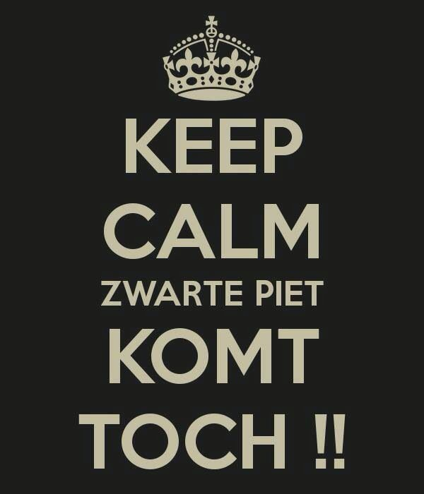 Zwarte Piet will come!