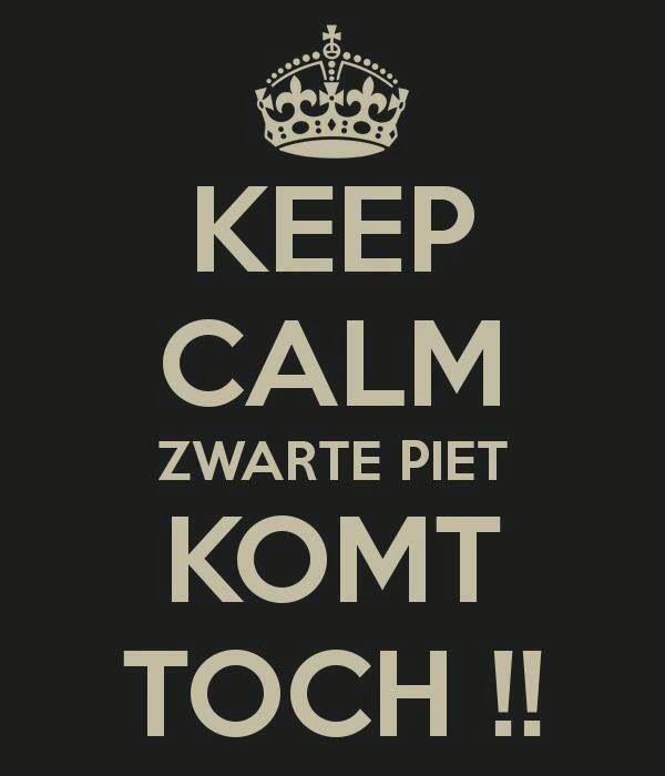 Zwarte Piet will come!
