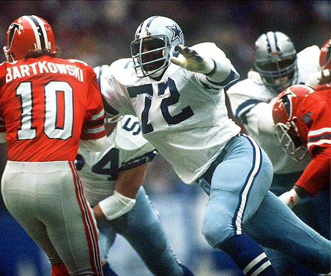"Ed ""Too Tall"" Jones, Dallas Cowboys"