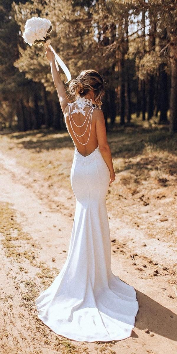 51 Beach Wedding Dresses Perfect For Destination Weddings In 2020 Inexpensive Bridesmaid Dresses Knee Length Wedding Dress Beach Wedding Dress