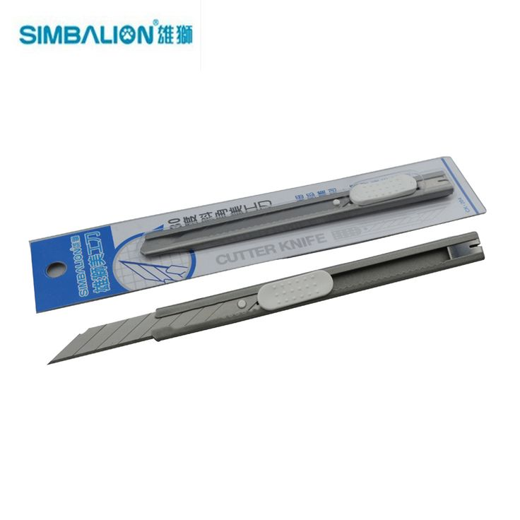 LifeMasterSimbalion Small Utility Knife 30 Degree Blade Iron Stainless Steel Cutter Good Quality 2pcs/lot Sketch Tools