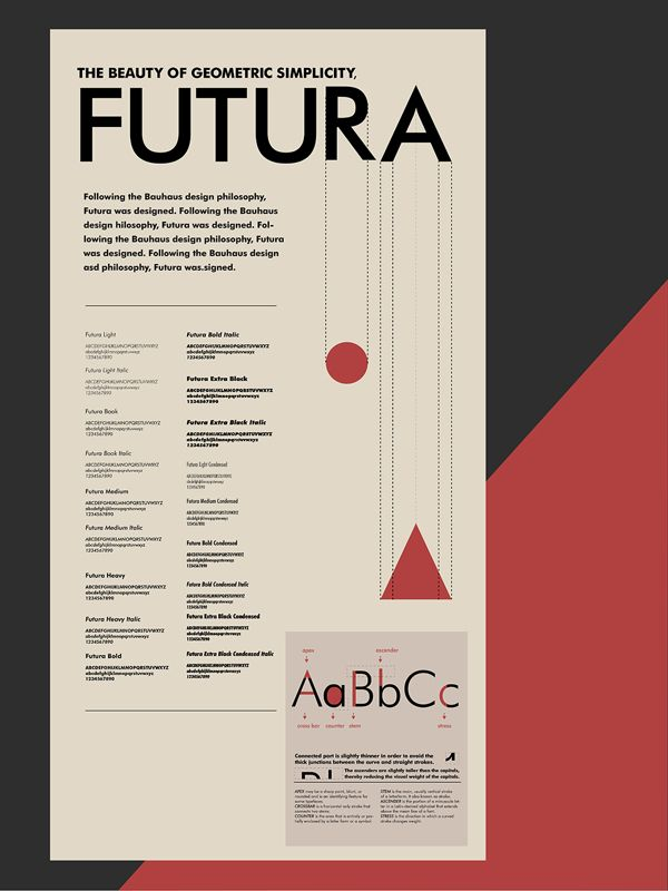 font posters