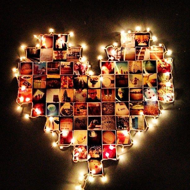 Fotos com luzinhas *.*