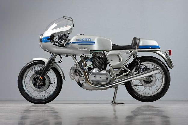 There's nothing like a barn find to get the motorcycling juices flowing, and this Ducati 750 Super Sport is one of the best. The bike was discovered in Belgium in 2009, after sitting in a shed for 15 years. It's now been resurrected by Harné Heuvelman of the Dutch specialist Back To Classics, and it's as close to vintage perfection as you can get.