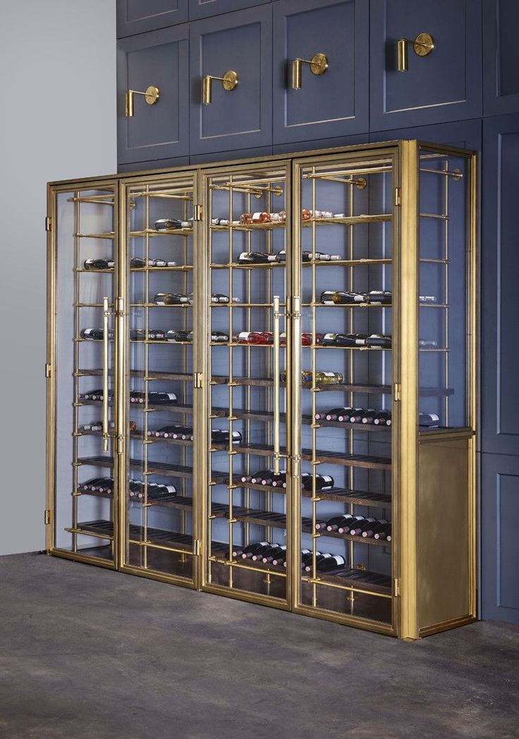 The Brass Wine Room - Amuneal: Magnetic Shielding & Custom Fabrication