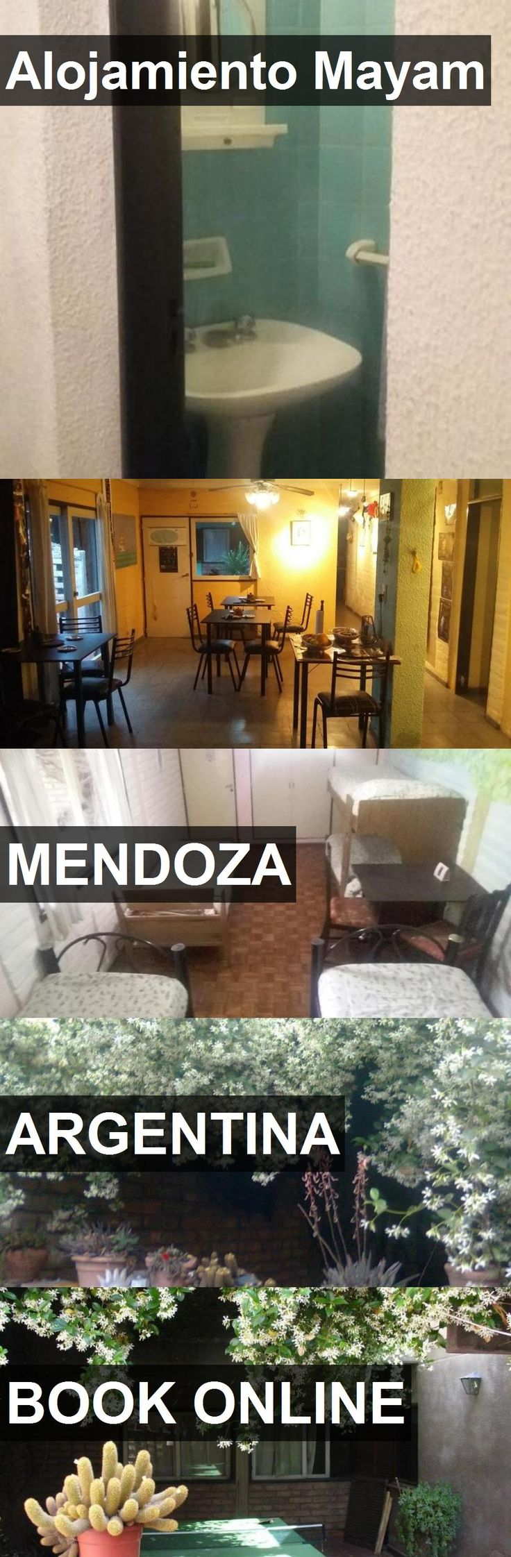 Hotel Alojamiento Mayam in Mendoza, Argentina. For more information, photos, reviews and best prices please follow the link. #Argentina #Mendoza #AlojamientoMayam #hotel #travel #vacation