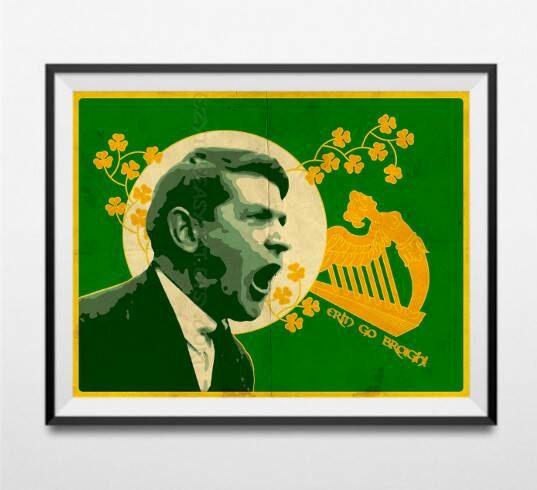 Michael Collins Irish leader Ireland Independence by EzyTheEasyCat