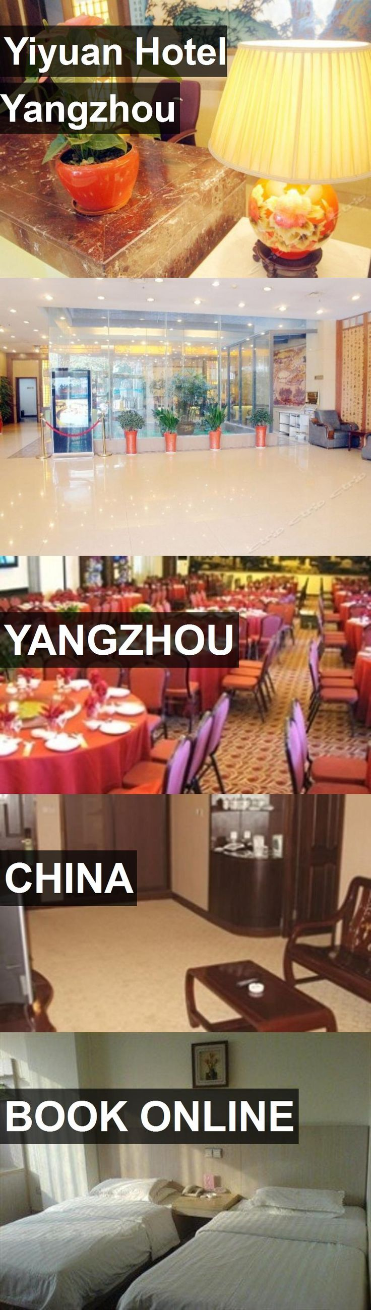 Yiyuan Hotel Yangzhou in Yangzhou, China. For more information, photos, reviews and best prices please follow the link. #China #Yangzhou #travel #vacation #hotel