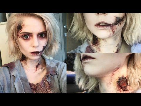 GRWM: Zombie Makeup Tutorial - YouTube