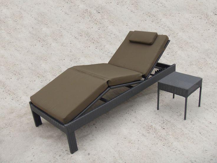 tg9581 rattan garden furniture sun lounger from trygo outdoor furniture