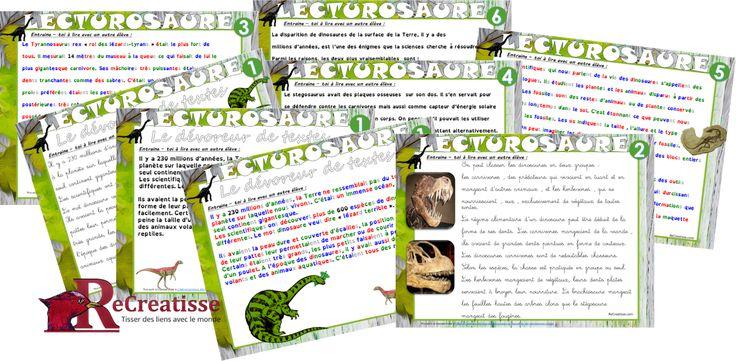 Ma classe est très hétérogène en lecture. Pour développer la motivation de mes élèves et en lien avec le thème «Explorateurs de la biodiversité», nous allons travailler sur les espèces disparues et en particulier les dinosaures. Afin de permettre à tous les enfants de participer activement et de progresser, j'ai différencié les activités : Les …