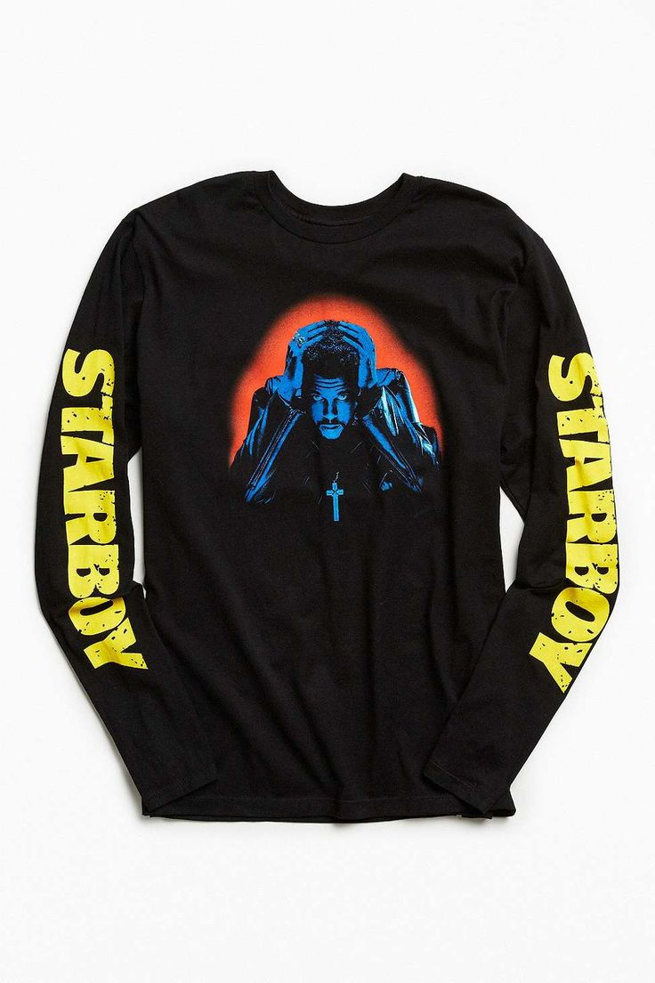 The Weeknd Starboy Photo Long Sleeve T-shirt