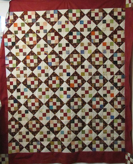 393 Best Nine Patch Quilts Images On Pinterest