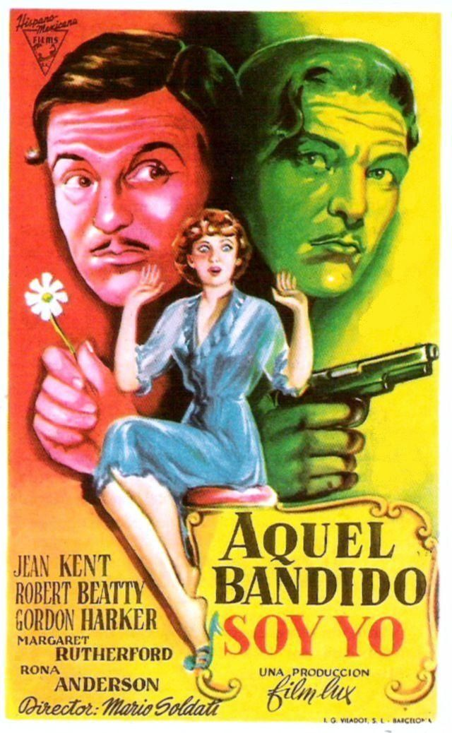 """Aquel bandido soy yo (1950) """"Her Favourite Husband"""" de"""