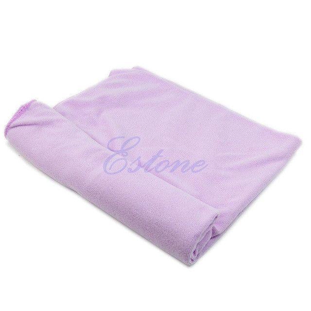 1PC 70x140cm Absorbent Microfiber Bath Beach Towel