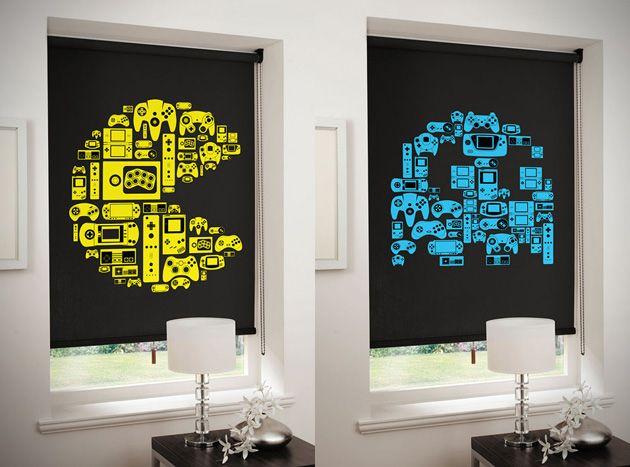 Pac-Man Roller Blinds