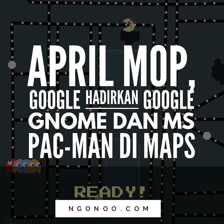 "https://ngonoo.com Perusahaan2 teknologi seringkali tak ketinggalan merayakan April Mop dan salah satu yang cukup rutin dan niat dalam membuat kejahilan April Mop adalah Google.  Kali ini Google membuat dua kejahilan sekaligus yang pertama menghadirkan permainan Ms Pac-Man pada Google Maps. Dan yang kedua Google membuat video untuk memperkenalkan Google Gnome yang diklaim sebagai ""evolusi dari Google Home."" Google Gnome dijelaskan sebagai versi Google Home yang dikustomisasi untuk digunakan…"