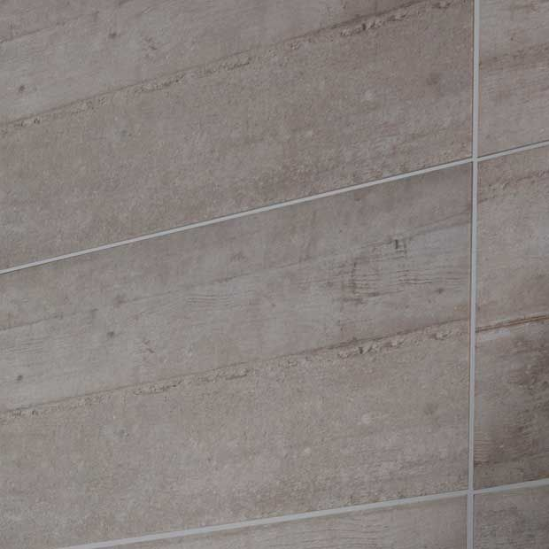 Carrelage murs et sols Beton - Pour salle de bains - Lapeyre