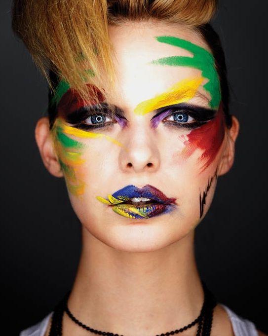 "make-up-is-an-art: "" by Marian Woo """