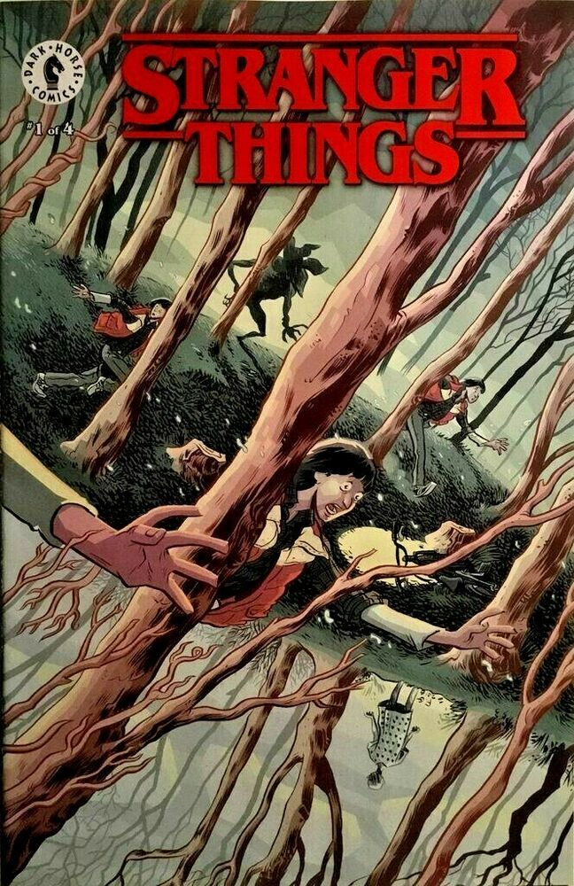 DARK HORSE Comics STRANGER THINGS #1 NYCC Moon Exclusive NM NETFLIX DEMOGORGON