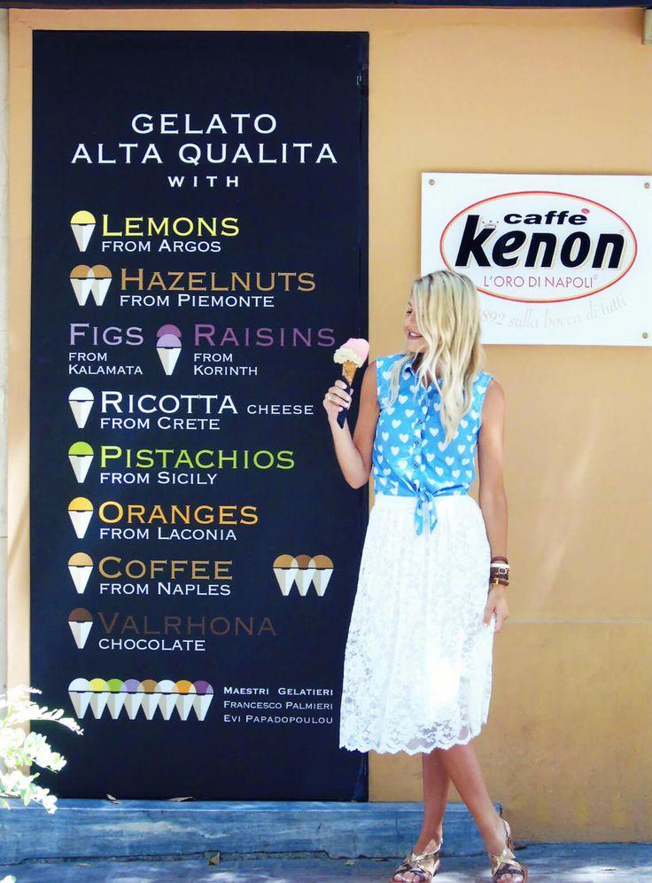 "Meet ""Le Greche""! - This is Sivylla #LeGreche #Gelato #Icecream #traditionalicecream #traditionalgelato #gelatoitaliano #icecream #icecreaminathens #AthensIcecream #AthensGelato #Gelatoinathens #summerinAthens #summericecream #lifestyle #Legrechesyntagma #Lifestyleblogger #lifestyleblog #blog #blogger"
