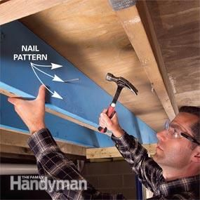 This article provides step-by-step instructions and pictures on how to make structural repairs by sistering floor joists alongside weak joists. If you have sagging, cracked or twisted joists, which can happen in older houses, this project will provide the extra support the floor needs.