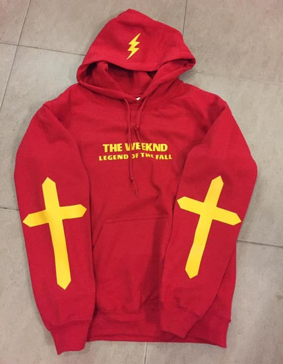 The Weeknd Legend Of The Fall Tour Hoodie STARBOY  Photos are of product you will receive. We do not participate in digital mock ups of products.  Iron inside out. Machine wash inside out.  International tracked shipping. Tracking numbers will be allocated to the order within 24 hours of dispatch notification.  Free UK shipping.  All questions welcome.