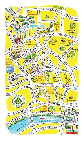 Sarah McMenemy - Map of London